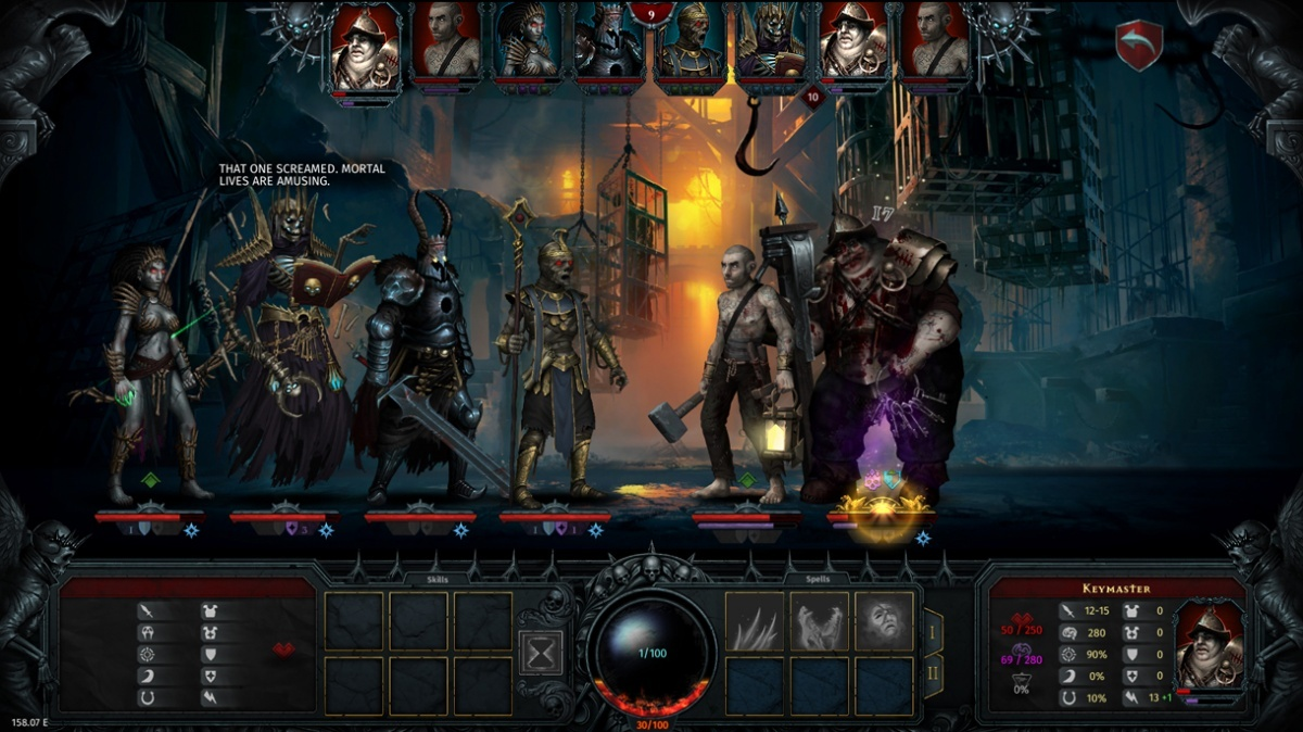 Screenshot for Iratus: Lord of the Dead on PC