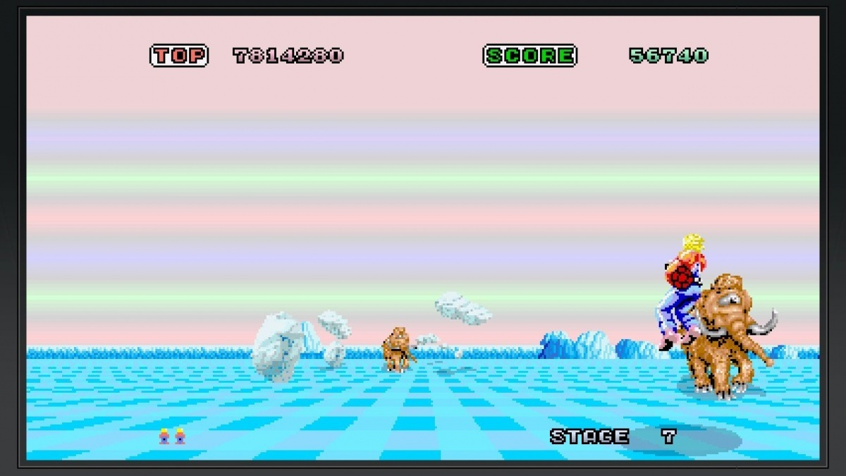 Screenshot for Sega Ages Space Harrier on Nintendo Switch