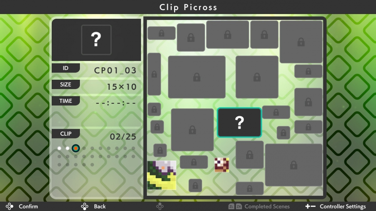 Screenshot for Picross S3 on Nintendo Switch