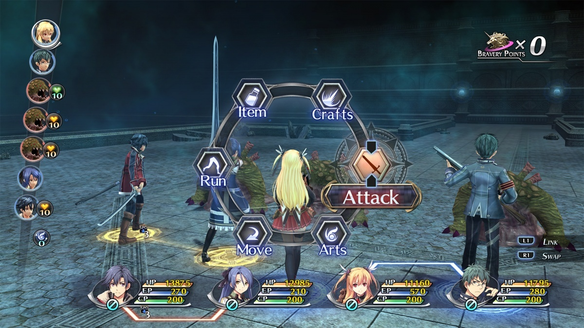 Screenshot for The Legend of Heroes: Trails of Cold Steel II on PlayStation 4