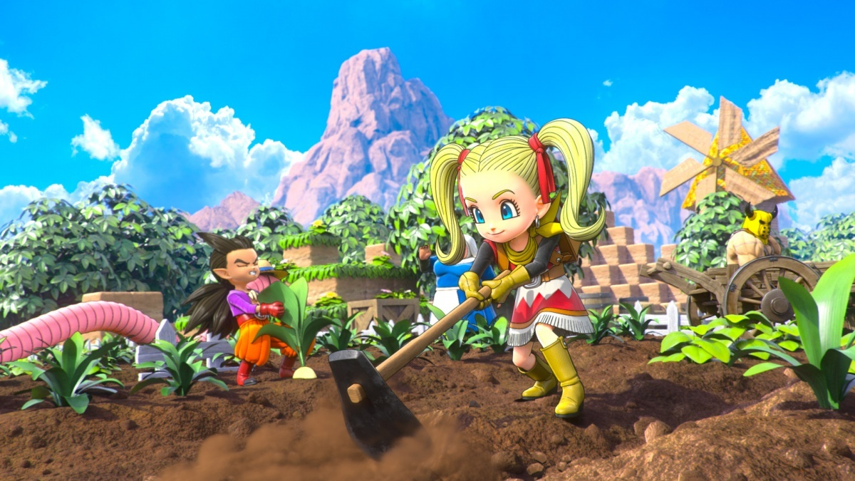 Screenshot for Dragon Quest Builders 2 on PlayStation 4