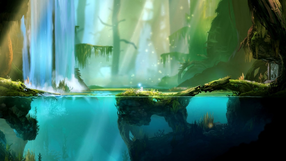 Screenshot for Ori and the Blind Forest: Definitive Edition on Nintendo Switch