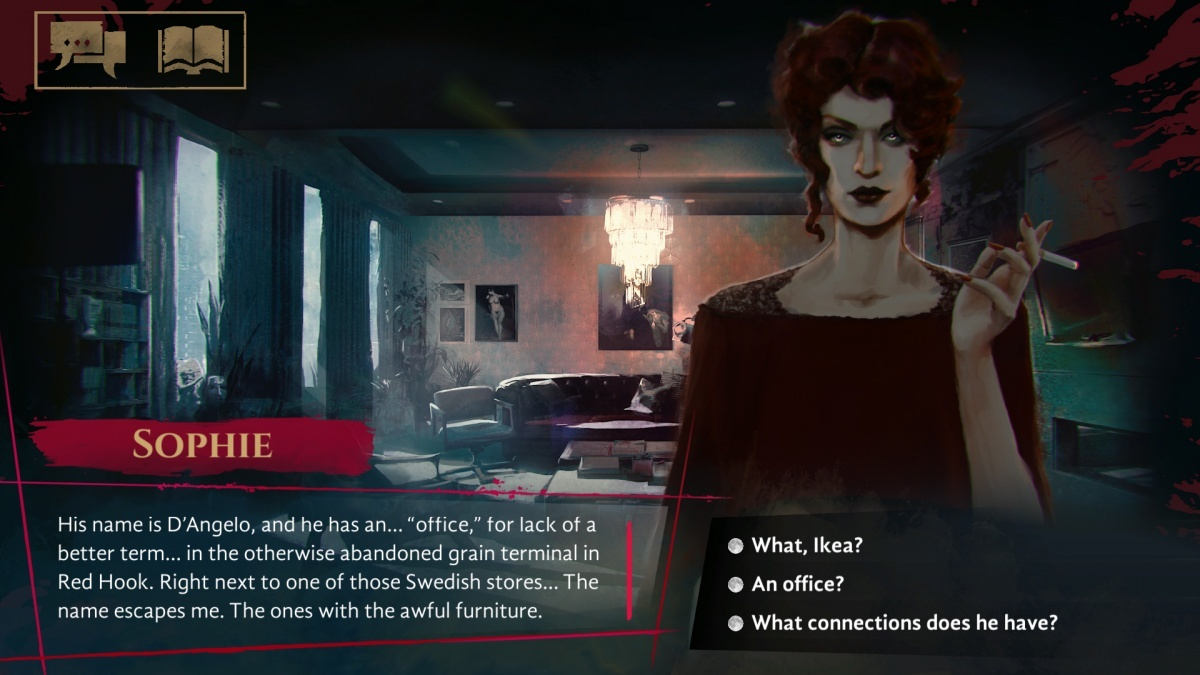 Screenshot for Vampire: The Masquerade - Coteries of New York  on PC