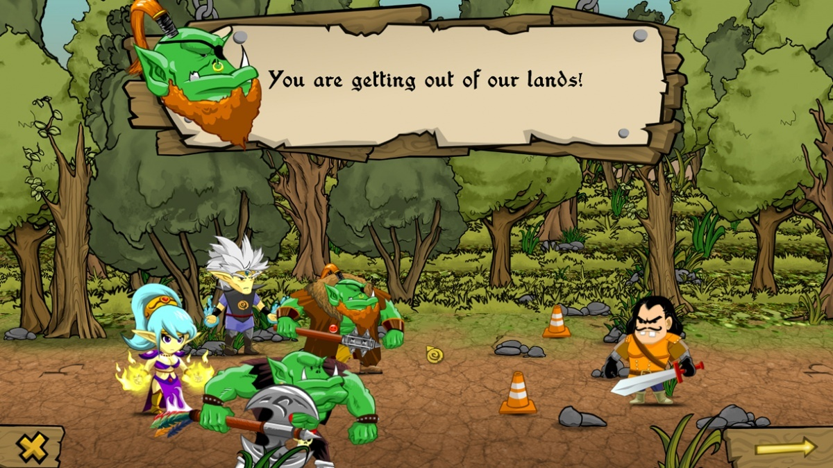 Screenshot for Arson and Plunder: Unleashed on PC