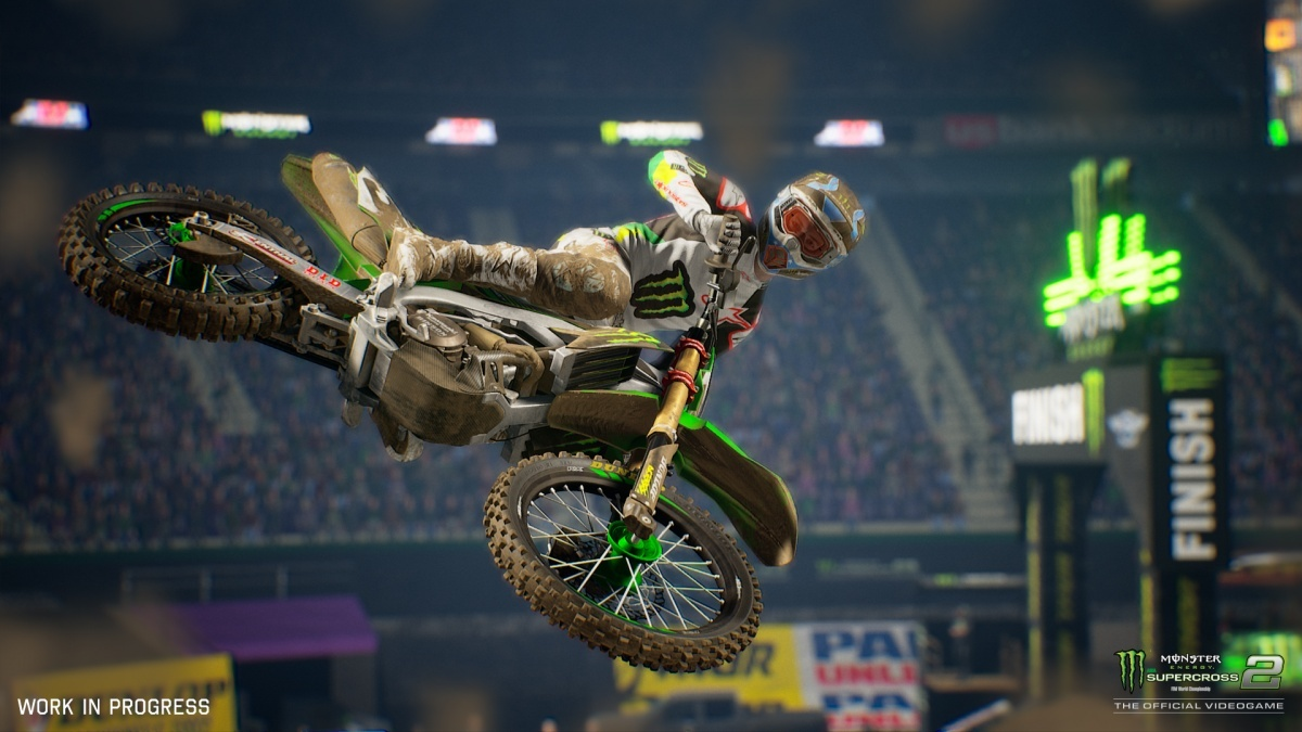 Screenshot for Monster Energy Supercross 2 - The Official Videogame  on PlayStation 4