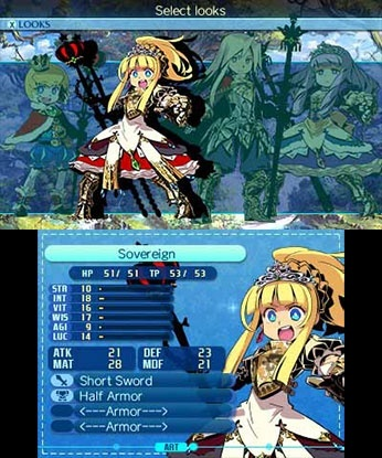 Screenshot for Etrian Odyssey Nexus on Nintendo 3DS