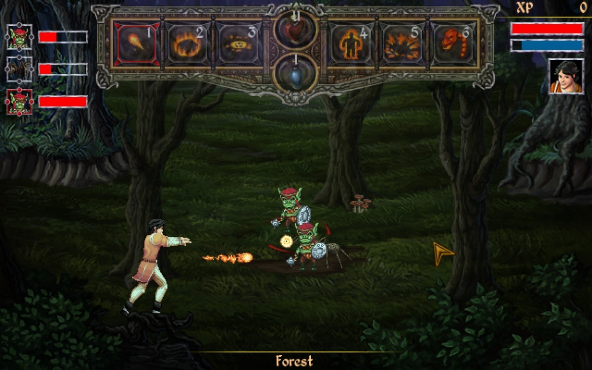 Screenshot for Mage's Initiation: Reign of the Elements on PC