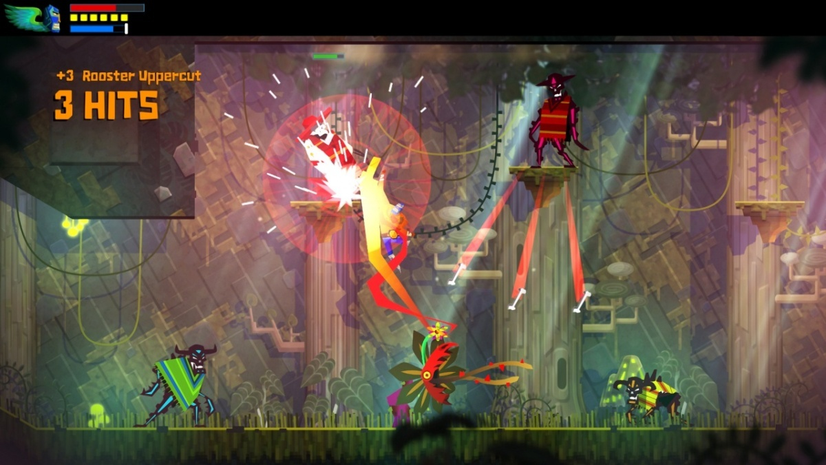 Screenshot for Guacamelee! Super Turbo Championship Edition on Nintendo Switch