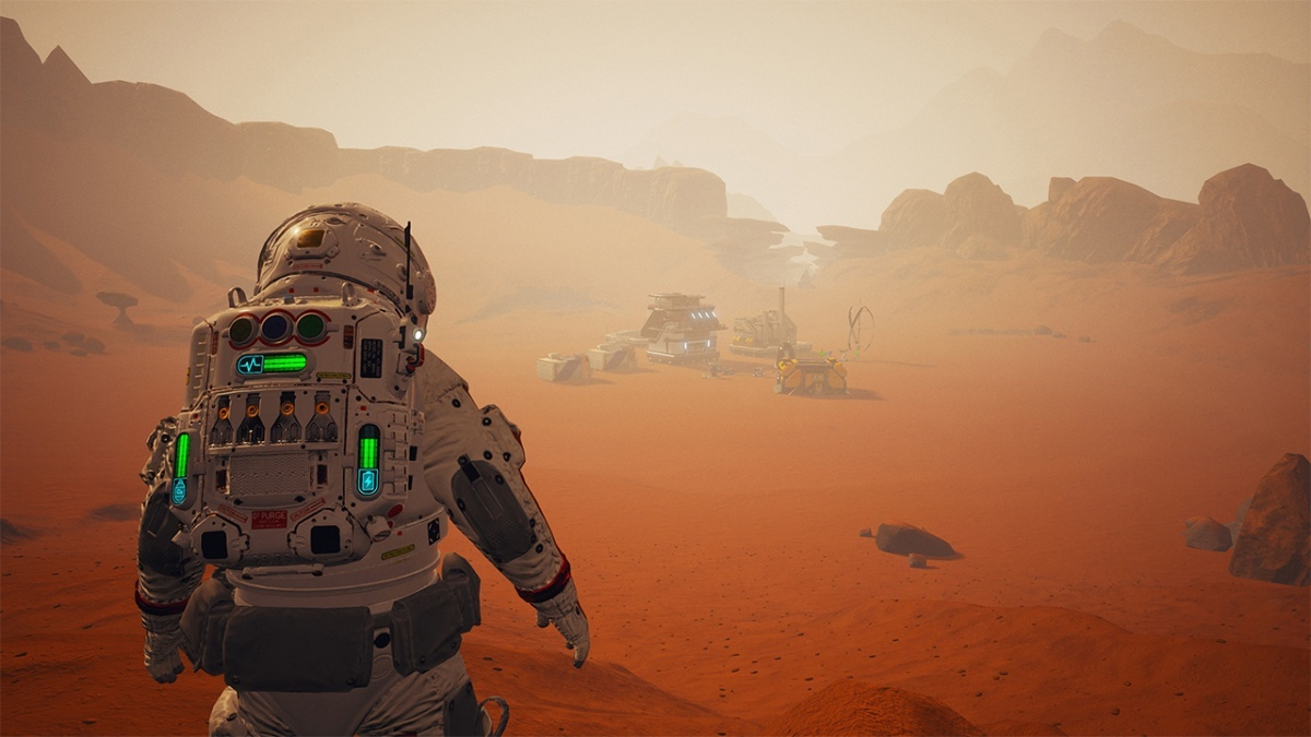 Screenshot for JCB Pioneer: Mars on Nintendo Switch