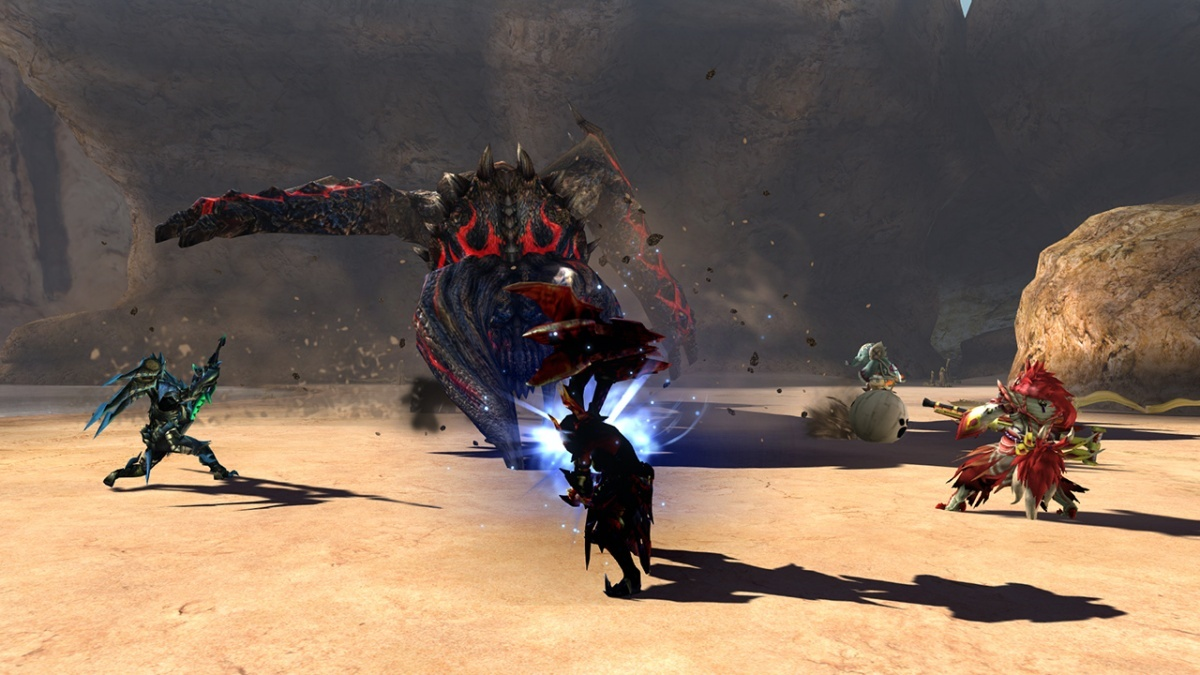 Screenshot for Monster Hunter Generations Ultimate on Nintendo Switch