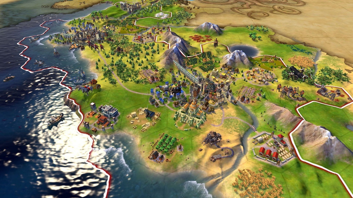 Screenshot for Sid Meier's Civilization VI  on Nintendo Switch