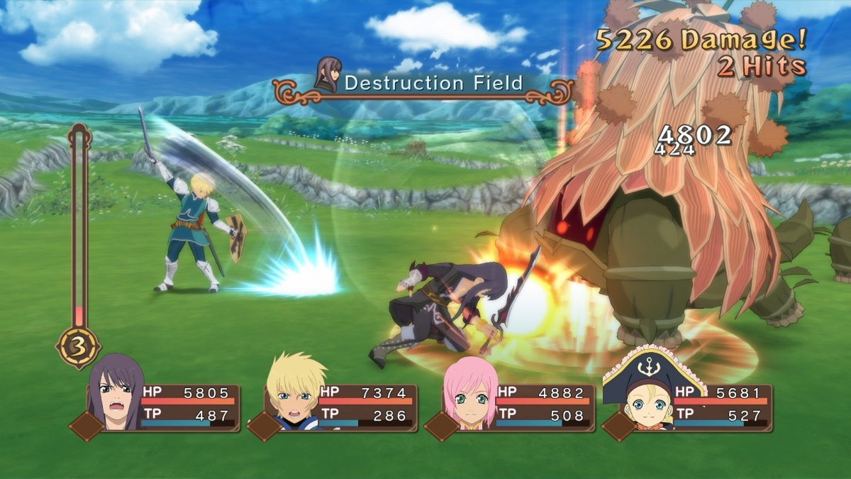 Screenshot for Tales of Vesperia: Definitive Edition on PlayStation 4