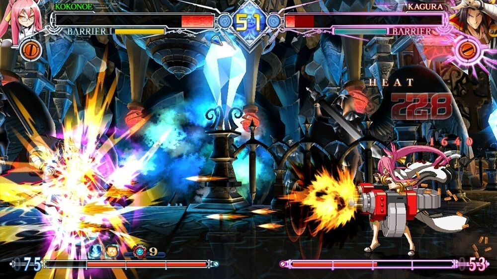 Screenshot for BlazBlue: Central Fiction Special Edition on Nintendo Switch