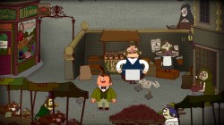 Screenshot for The Adventures of Bertram Fiddle: Episode 2: A Bleaker Predicklement - click to enlarge