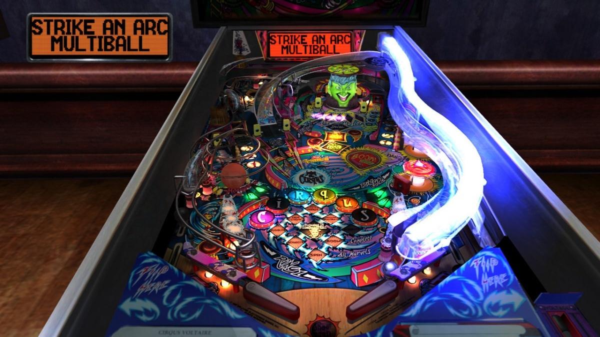The Pinball Arcade Nintendo Switch Screens and Art Gallery