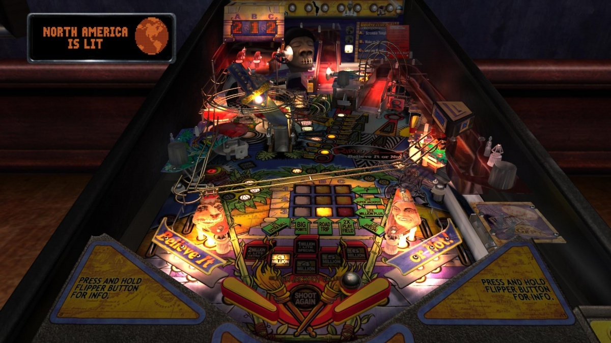 Screenshot for The Pinball Arcade: Stern Table Pack 1 on Nintendo Switch