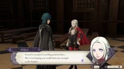 Screenshot for Fire Emblem: Three Houses - click to enlarge