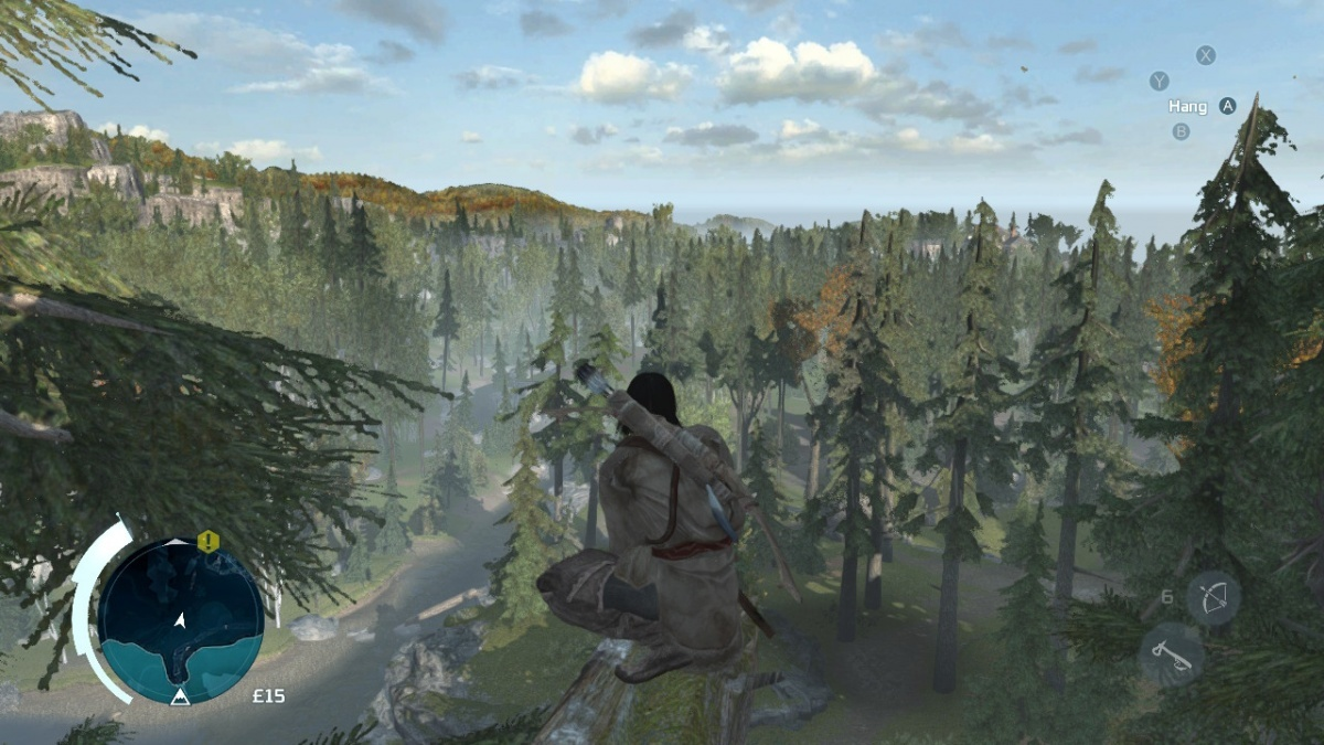 Screenshot for Assassin's Creed III Remastered on Nintendo Switch