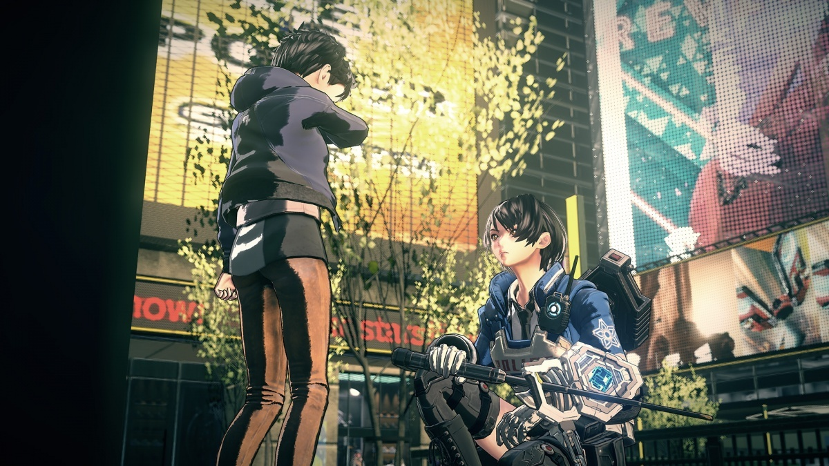 Screenshot for Astral Chain on Nintendo Switch