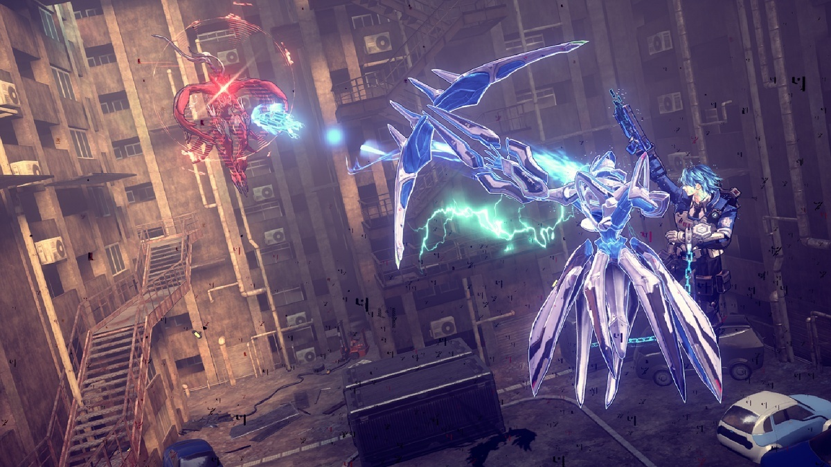 Astral Chain Nintendo Switch Screens And Art Gallery Cubed3