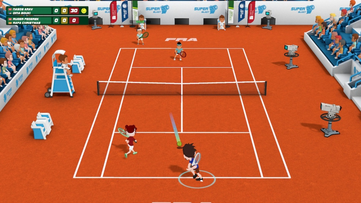 Super Tennis Blast (Nintendo Switch) Review - Page 1 - Cubed3