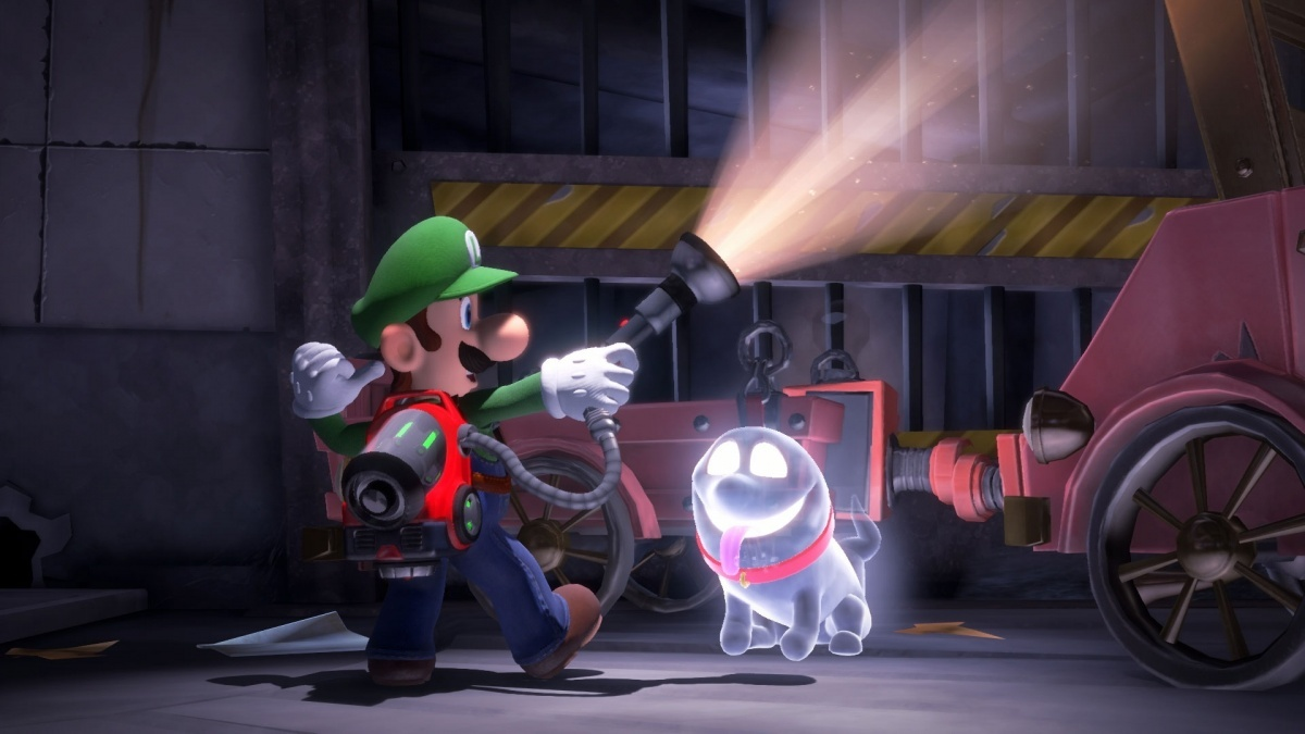 Luigi S Mansion 3 Nintendo Switch Preview Page 1 Cubed3