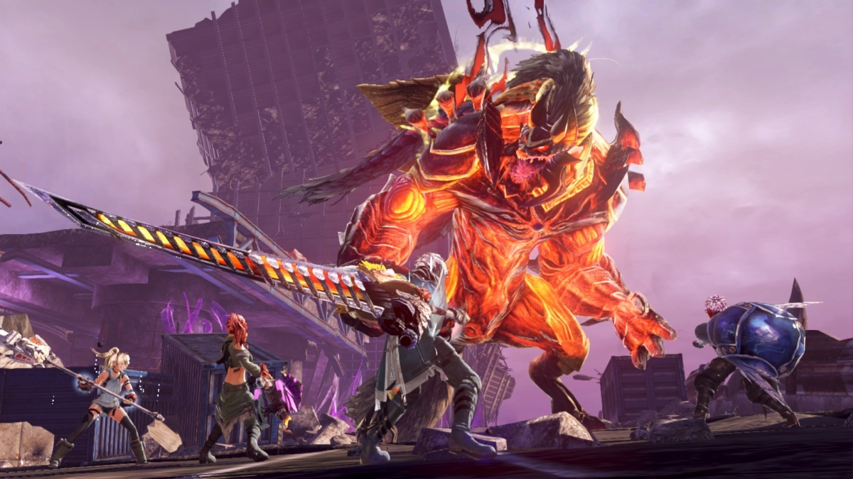 Screenshot for God Eater 3 on Nintendo Switch