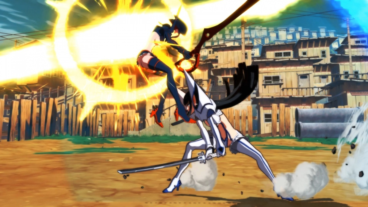 Screenshot for Kill la Kill the Game: IF  on Nintendo Switch