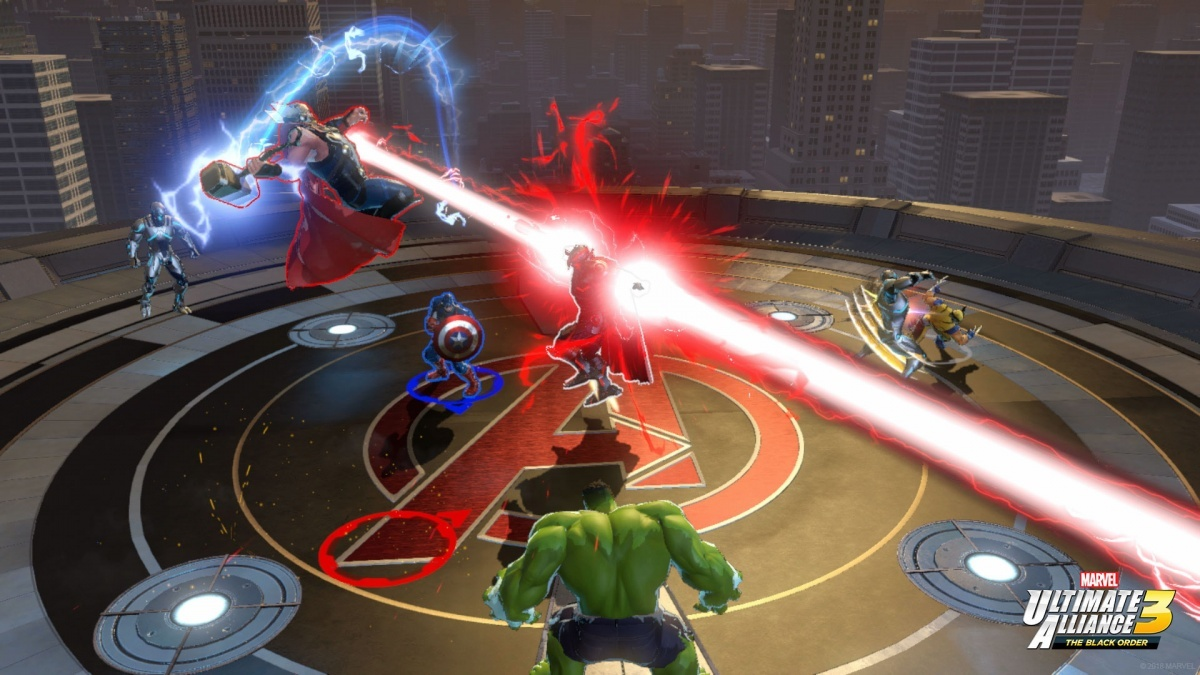 Screenshot for Marvel Ultimate Alliance 3: The Black Order on Nintendo Switch