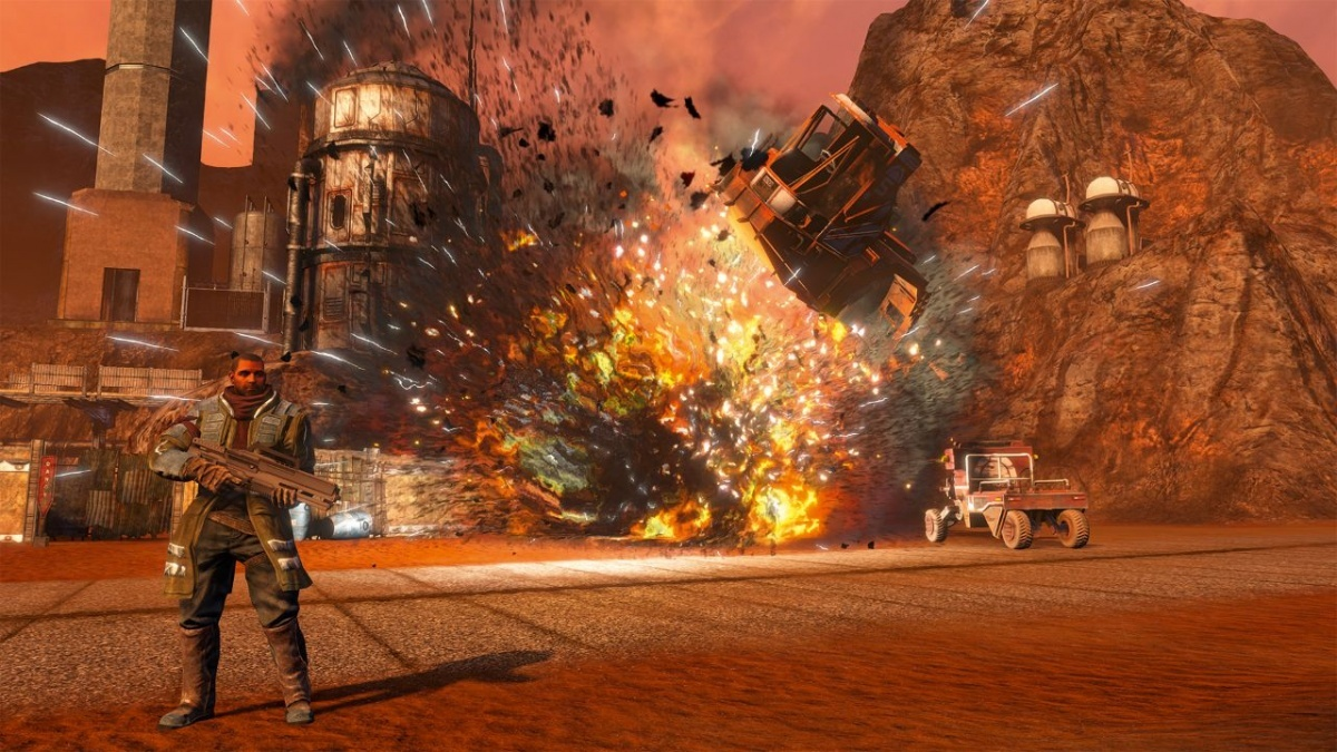Screenshot for Red Faction: Guerrilla Re-Mars-tered on Nintendo Switch