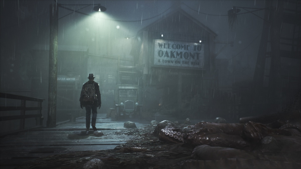 Screenshot for The Sinking City on Xbox One