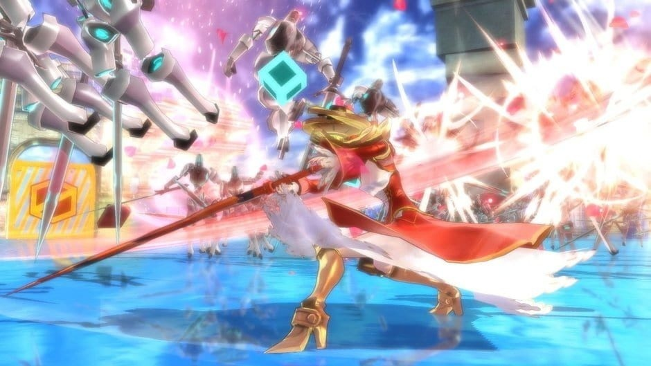 Screenshot for Fate/Extella: The Umbral Star on PC