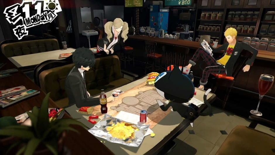 Screenshot for Persona 5 on PlayStation 4