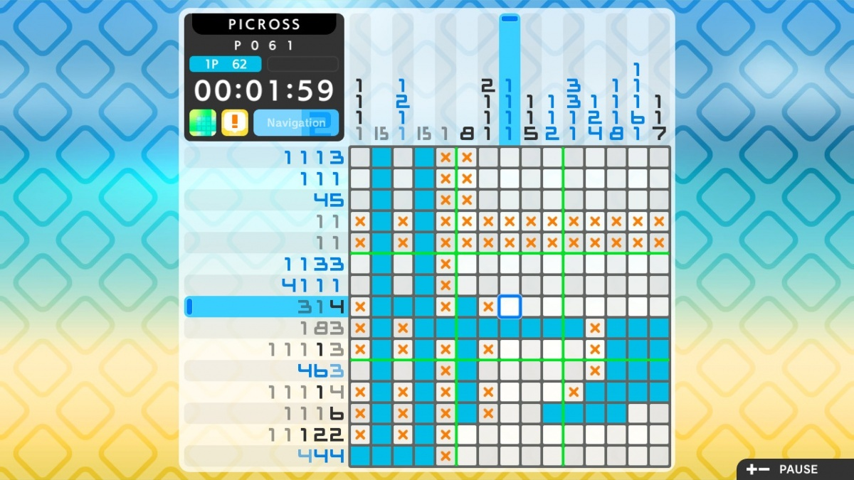 Screenshot for Picross S2 on Nintendo Switch