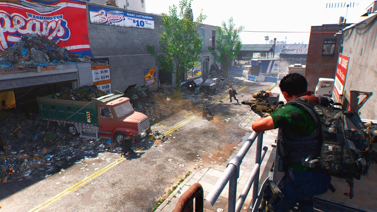 Screenshot for Tom Clancy's The Division 2 on PlayStation 4