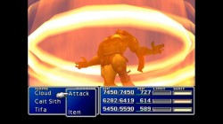 Screenshot for Final Fantasy VII - click to enlarge
