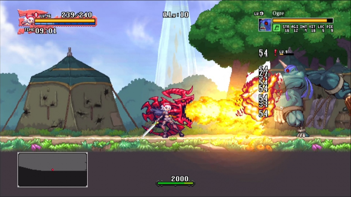 Screenshot for Dragon Marked for Death: Frontline Fighters on Nintendo Switch