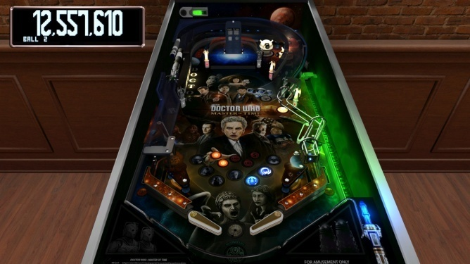 Screenshot for The Pinball Arcade: Doctor Who: Master of Time on Nintendo Switch