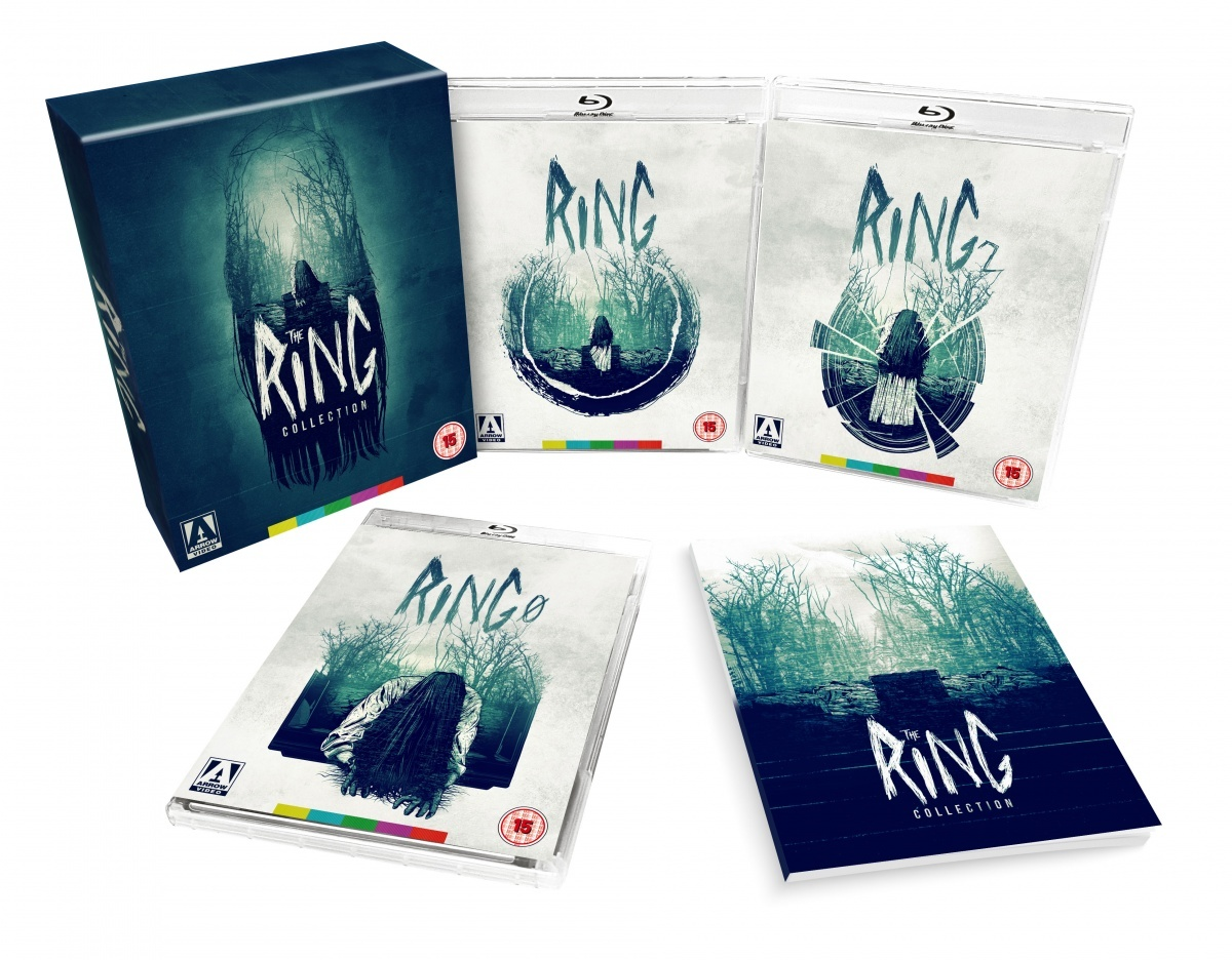 Image for Movie Review: Ring Limited Edition Collection