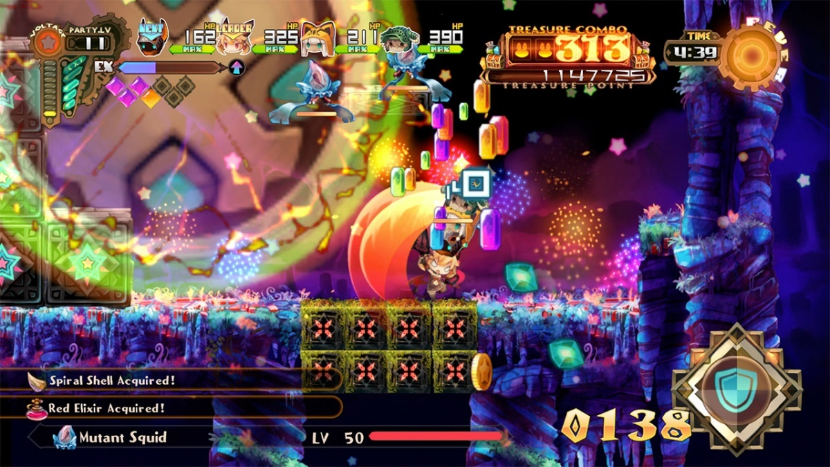 Screenshot for Lapis X Labyrinth on Nintendo Switch