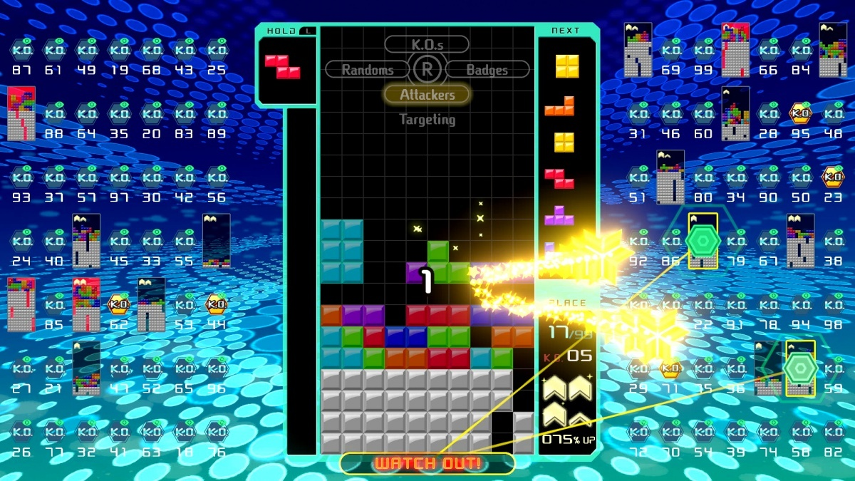 Screenshot for Tetris 99 on Nintendo Switch