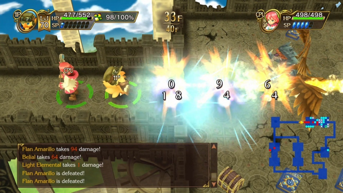 Screenshot for Chocobo's Mystery Dungeon EVERY BUDDY! on Nintendo Switch