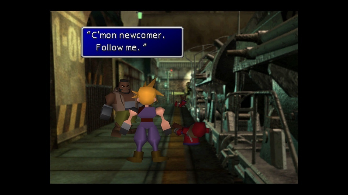 Screenshot for Final Fantasy VII on Xbox One