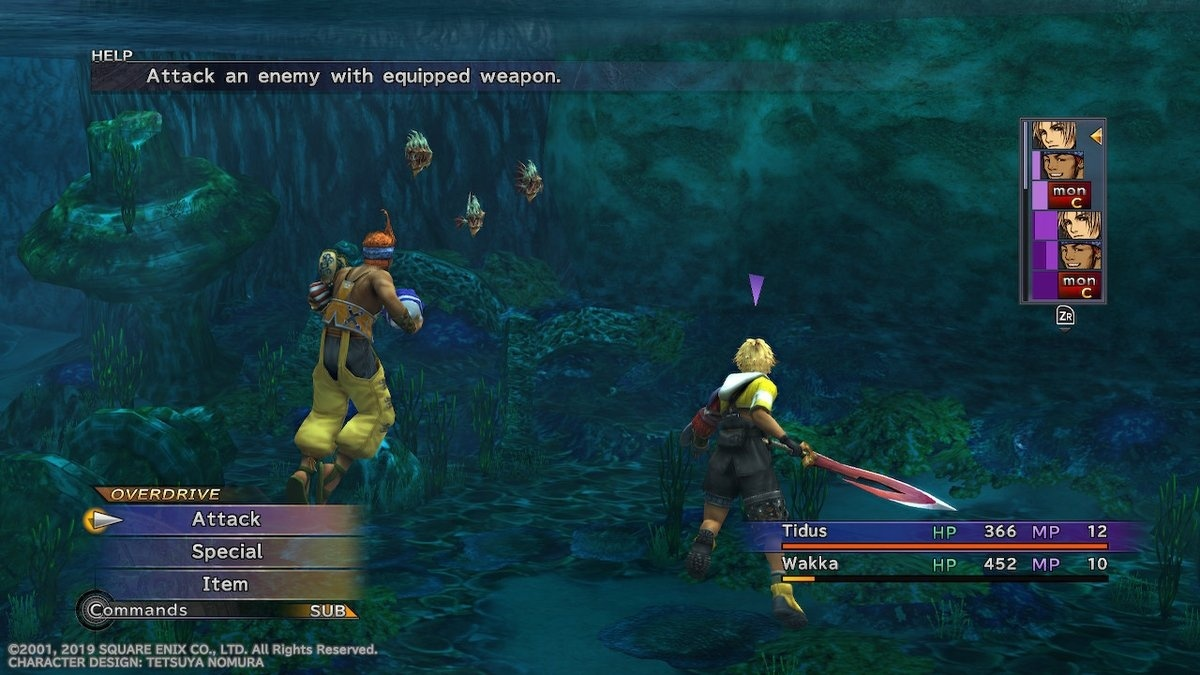 Screenshot for Final Fantasy X / X-2 HD Remaster on Nintendo Switch