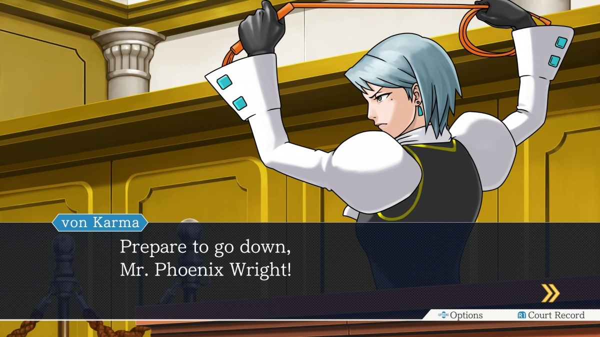 Screenshot for Phoenix Wright Trilogy on PlayStation 4