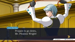 Screenshot for Phoenix Wright Trilogy - click to enlarge