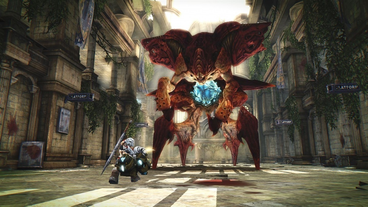 Screenshot for Darksiders: Warmastered Edition on Nintendo Switch