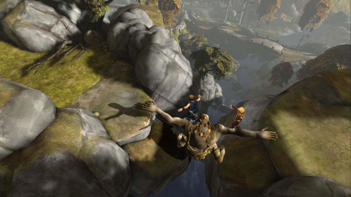 Screenshot for Brothers: A Tale of Two Sons on Nintendo Switch