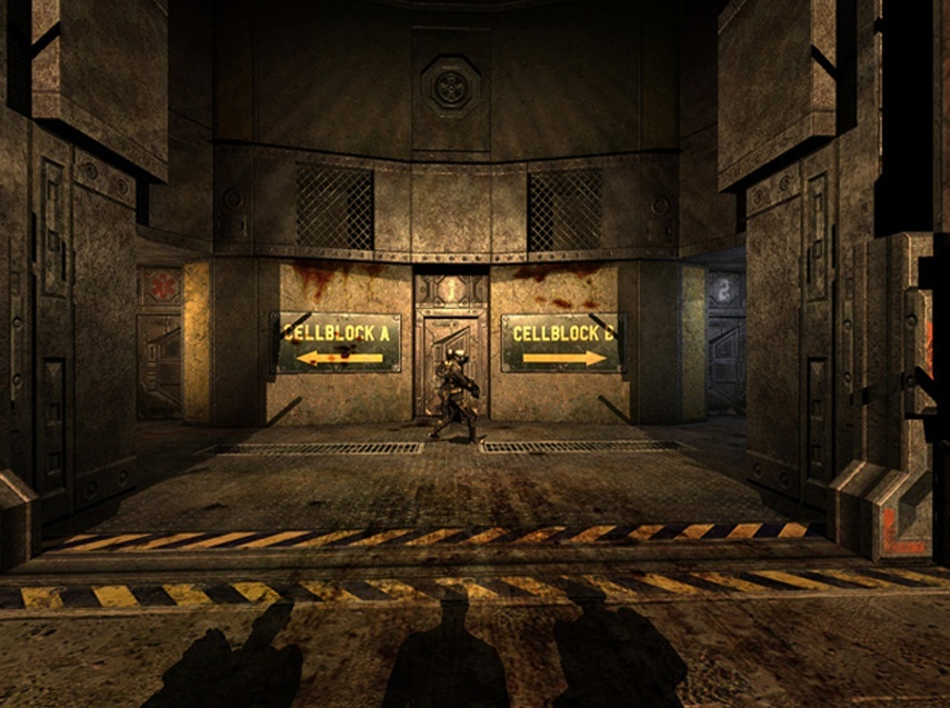 Screenshot for The Chronicles of Riddick: Escape from Butcher Bay - Director's Cut on PC