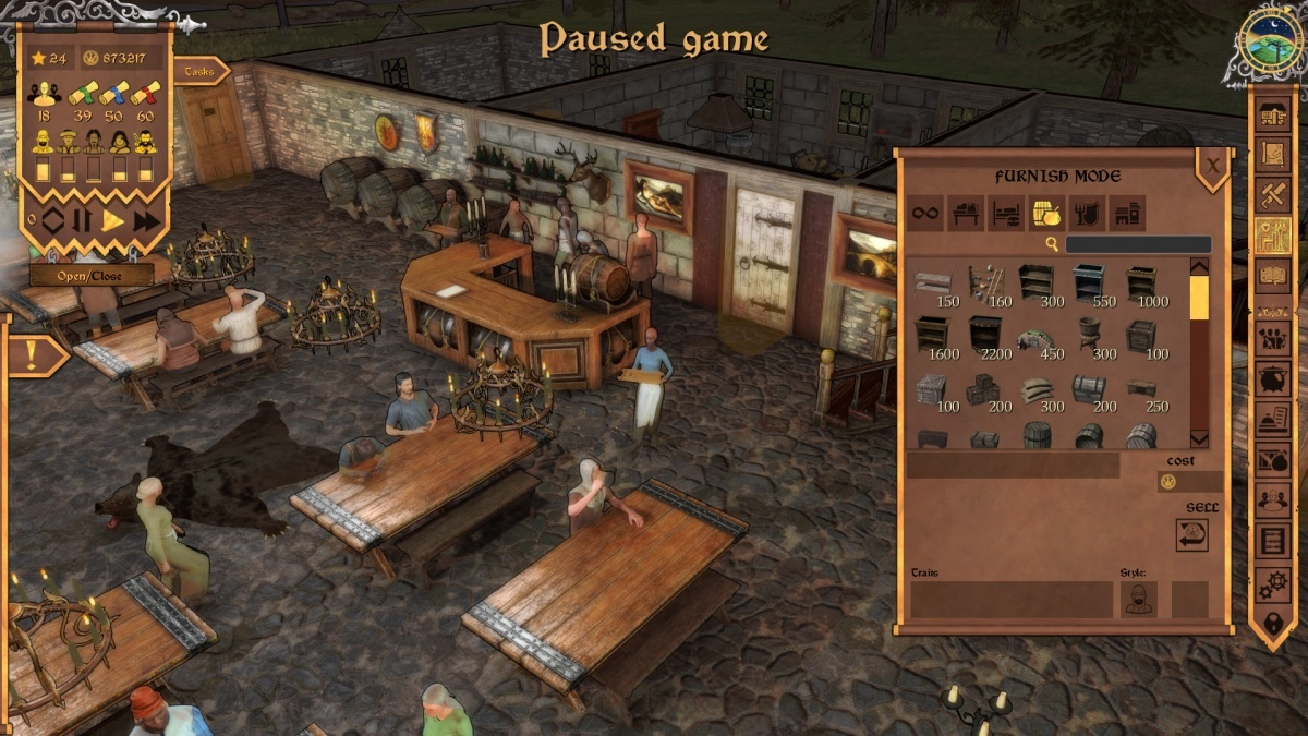 Screenshot for Crossroads Inn on PC